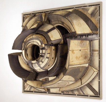 "Untitled, Lee Bontecou, 1962...the jumping-off point for my set design for ""Neverwhere"""