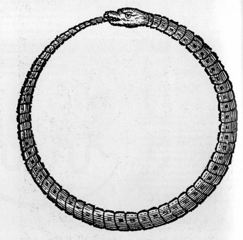 Ouroboros. Journeys end, and others begin.